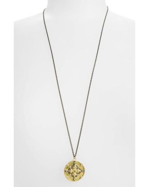 Armenta | Metallic Old World Pendant Necklace | Lyst