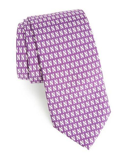 Vineyard Vines | Purple Northwestern University Silk Tie for Men | Lyst