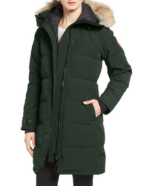 Canada goose Shelburne Genuine Coyote Fur Trim Down Parka ...