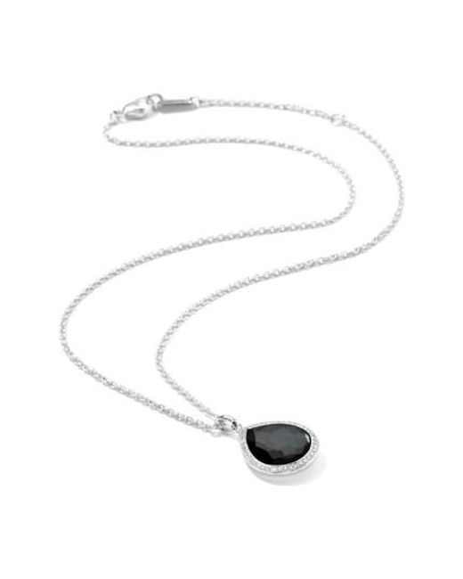 Ippolita - Multicolor Lollipop Teardrop Pendant Necklace - Lyst