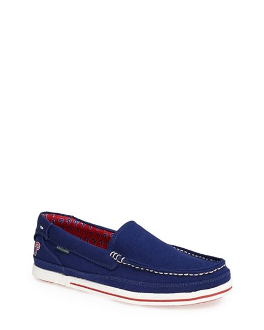 Eastland | Blue 'sheffield - Mlb' Slip-on for Men | Lyst