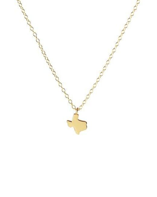 Lyst kris nations solid state charm necklace in metallic kris nations metallic solid state charm necklace lyst aloadofball Images