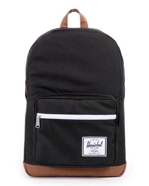 Herschel Supply Co. - Black 'pop Quiz' Backpack for Men - Lyst