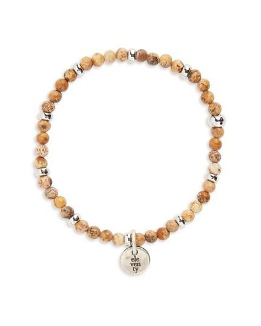 Eleventy - Multicolor Bead Bracelet - Lyst