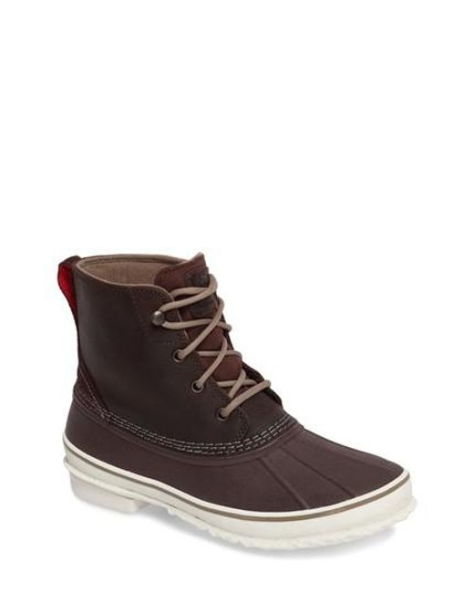 Ugg | Brown Ugg Zetik Rain Boot for Men | Lyst