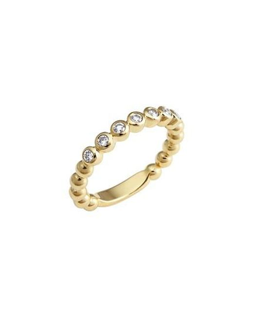 Lagos - Metallic Covet Stone Caviar Stack Ring - Lyst