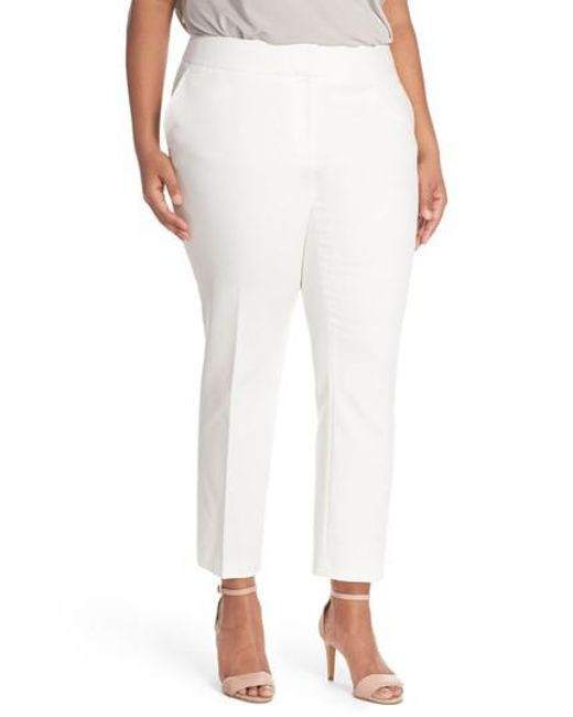 Vince Camuto | White Wide Leg Trousers | Lyst