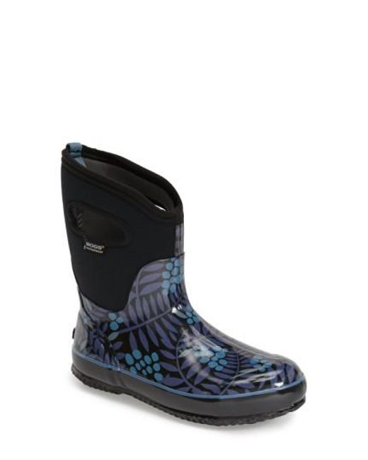 Bogs | Multicolor 'winterberry' Mid High Waterproof Snow Boot With Cutout Handles | Lyst