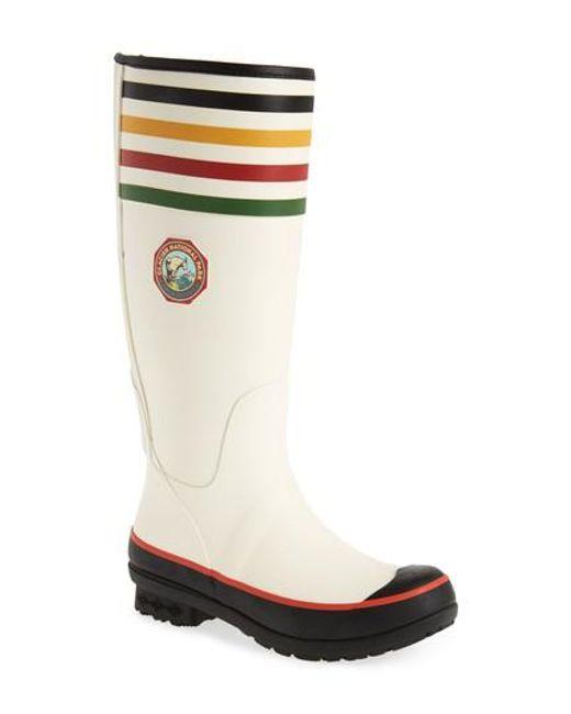 PENDLETON BOOT - Multicolor Pendleton Glacier National Park Tall Rain Boot - Lyst