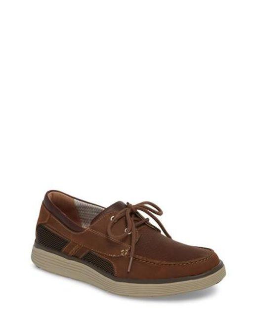 Clarks Men's Clarks Unabobe Step Boat Shoe GMRAatrA