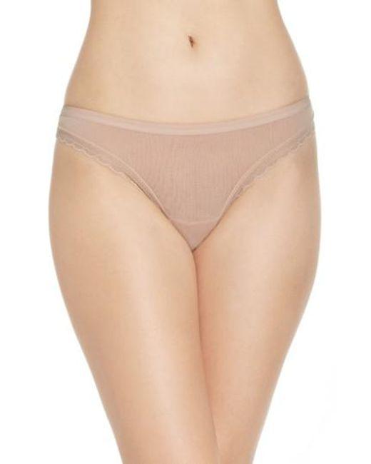 On Gossamer | Natural Hip G Thong | Lyst