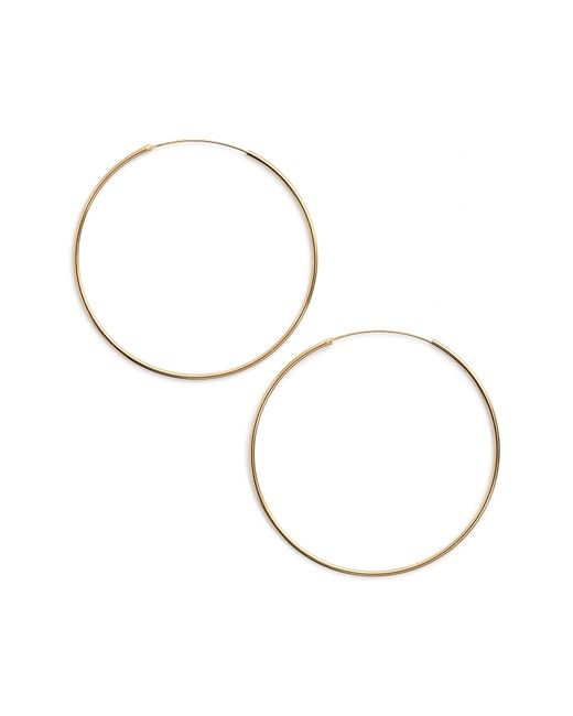 Argento Vivo - Metallic Extra Large Endless Hoop Earrings - Lyst