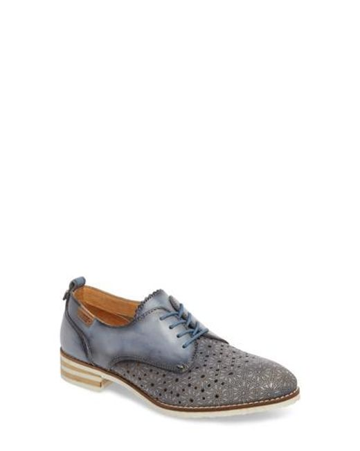 27a7e556ebee3 Lyst - Pikolinos Royal Water Resistant Derby in Blue for Men