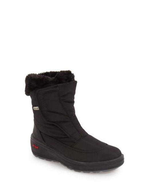Pajar - Black 'Kimmi' Snow Boot - Lyst