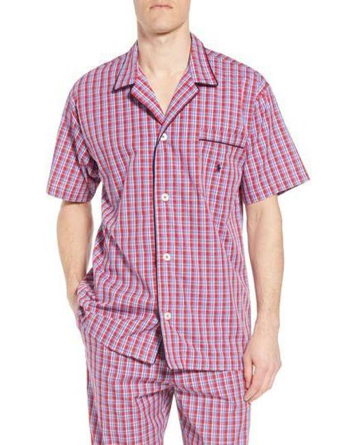 Polo Ralph Lauren - Multicolor Cotton Pajama Shirt for Men - Lyst