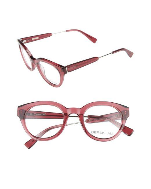Derek Lam - Black 47mm Optical Glasses - - Lyst