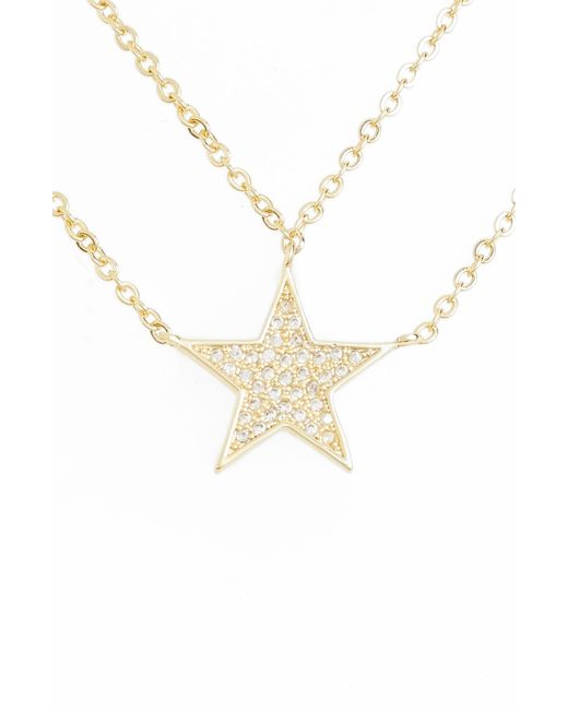 Melinda Maria - Metallic You're A Star Necklace - Lyst