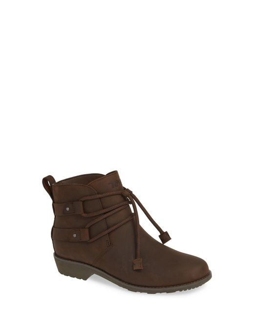 Teva - Brown De La Vina Shorty Waterproof Bootie - Lyst