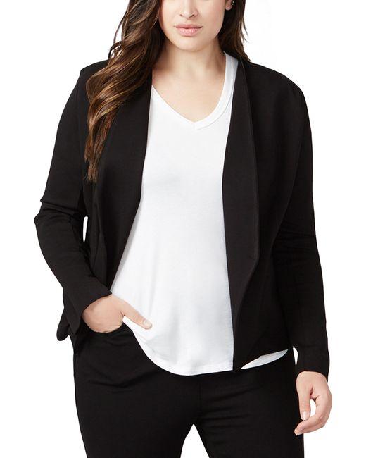 61dd674c3a7 Lyst - RACHEL Rachel Roy Ponte Knit Jacket in Black