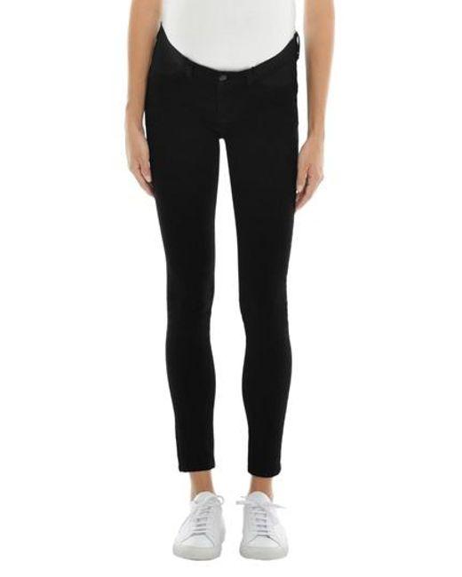 J Brand - Black Mama J Super Skinny Maternity Jeans - Lyst