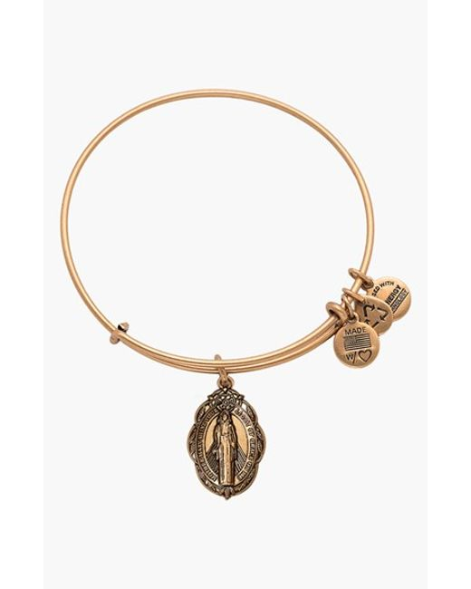ALEX AND ANI   Metallic 'mother Mary' Wire Bangle   Lyst