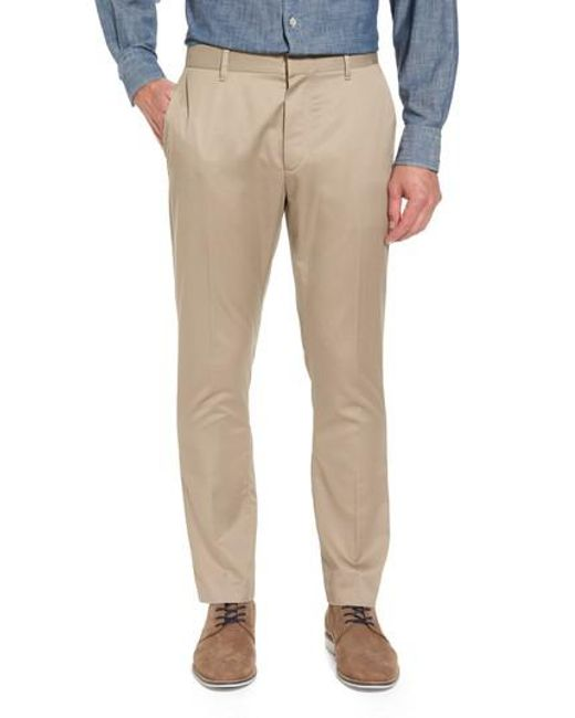 Bonobos - Natural 'weekday Warriors' Non-iron Tailored Cotton Chinos for Men - Lyst