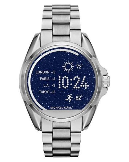 Michael Kors | Metallic Michael Michael Kors Bradshaw Access Bracelet Smart Watch | Lyst