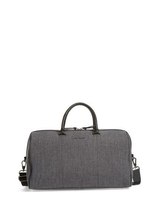 Ted Baker - Multicolor Caper Duffel Bag for Men - Lyst