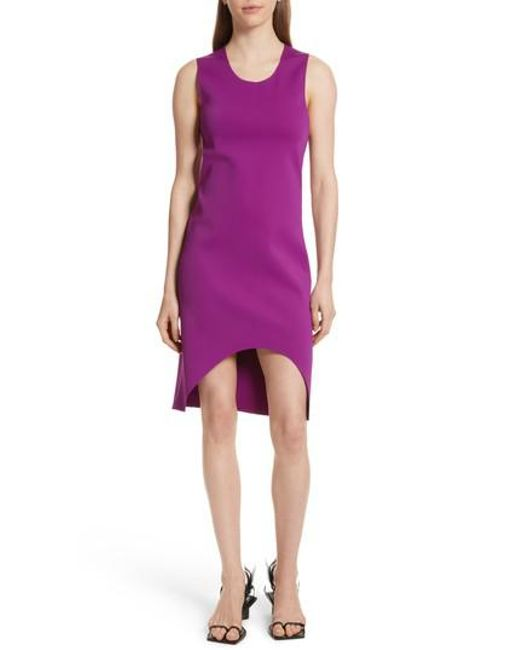 high low dress - Pink & Purple Helmut Lang 8ZqfBUXiU