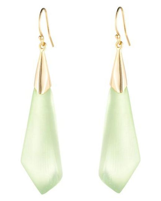 Alexis Bittar - Multicolor Faceted Wire Earrings - Lyst