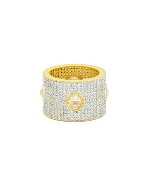 Freida Rothman | Metallic Visionary Fusion Cigar Band Ring | Lyst
