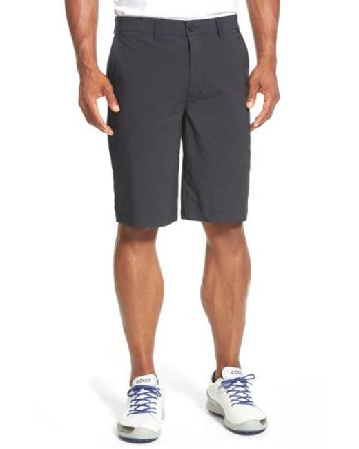 Travis Mathew   Black 'hefner' Stretch Golf Shorts for Men   Lyst