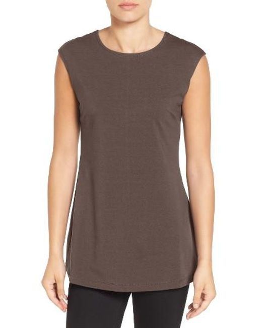 NIC+ZOE | Gray 'perfect Layer' Tank | Lyst