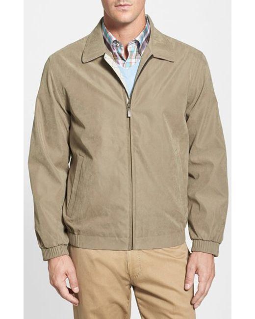 Rainforest | Brown 'microseta' Lightweight Golf Jacket for Men | Lyst