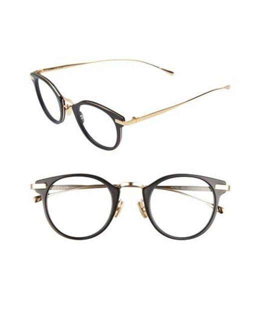 Derek Lam - Black 47mm Optical Glasses - Lyst