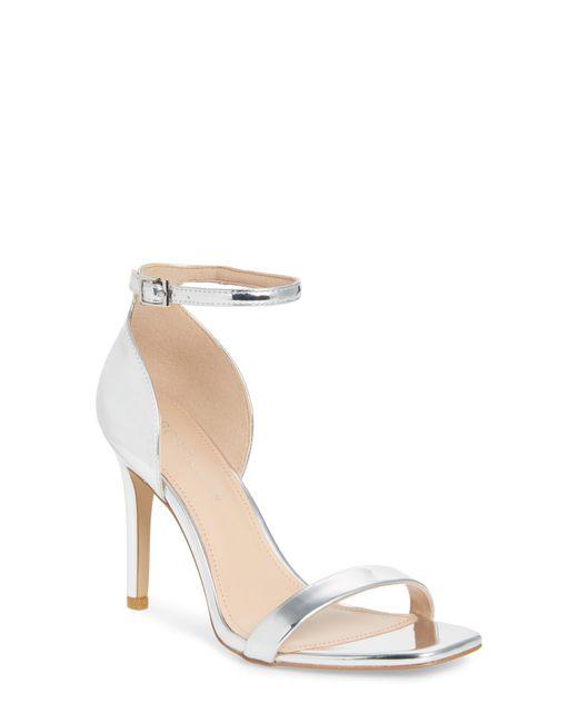 BCBGMAXAZRIA - Metallic Irina Ankle Strap Sandal - Lyst