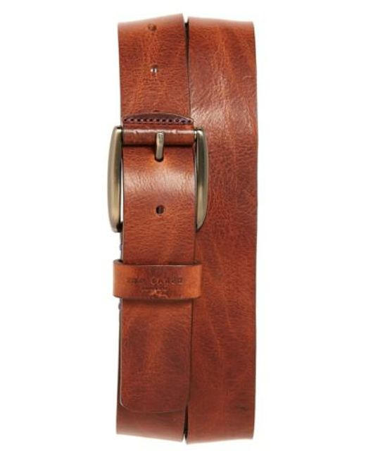Ted Baker | Brown 'jean' Leather Belt for Men | Lyst