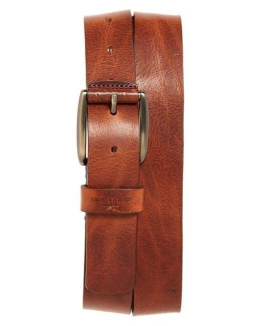 Ted Baker - Brown 'jean' Leather Belt for Men - Lyst