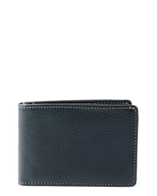 Boconi - Black 'tyler' Rfid Slimster Wallet for Men - Lyst