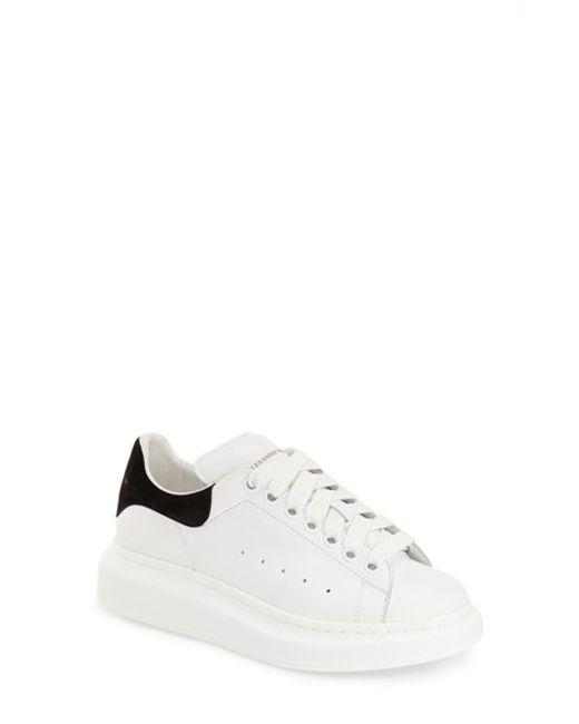 Alexander McQueen   White Sneaker   Lyst
