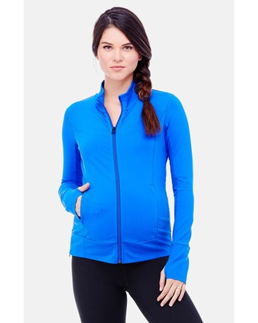 Ingrid & Isabel | Blue Ingrid & Isabel Active Maternity Jacket | Lyst