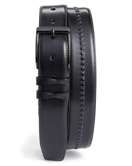 Mezlan | Gray Calfskin Belt for Men | Lyst