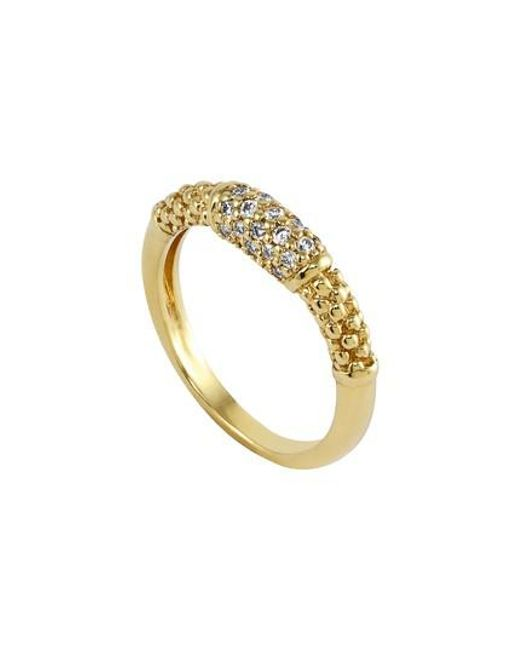 Lagos - Metallic Caviar Diamond Ring - Lyst