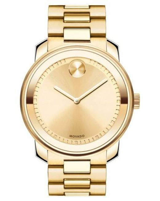 Movado | Metallic 'bold' Bracelet Watch for Men | Lyst