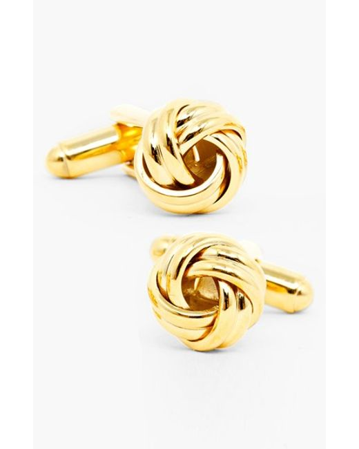 Ox and Bull Trading Co. | Metallic Knot Cuff Links for Men | Lyst