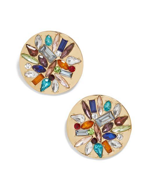 BaubleBar - Multicolor Garima Crystal Stud Earrings - Lyst