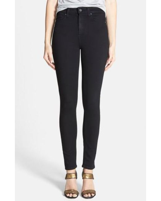 100% Original Margot ultra-skinny high rise jeans - Black Paige Ebay Sale Online Release Dates Clearance Lowest Price All Size d57H5E1IDJ