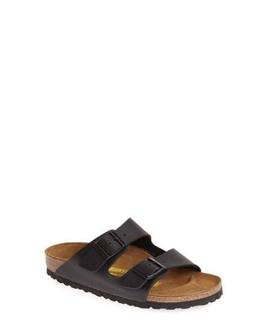 Birkenstock | Black Arizona Birko-flor Sandal | Lyst