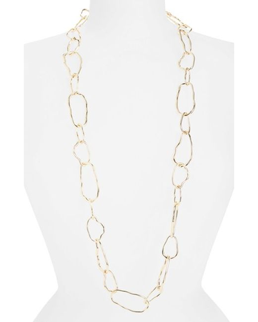 Panacea | Metallic Chain Link Necklace | Lyst