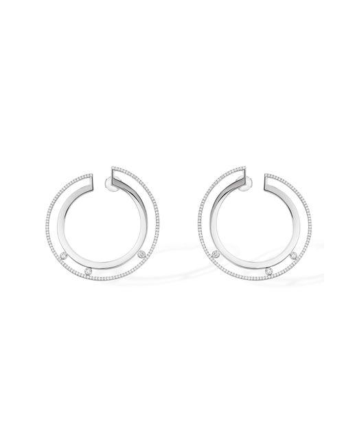 Messika - Metallic Move Romane 18k Gold & Diamond Hoop Earrings - Lyst